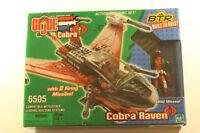 Gi joe Cobra Raven with Wild Weasel Figure