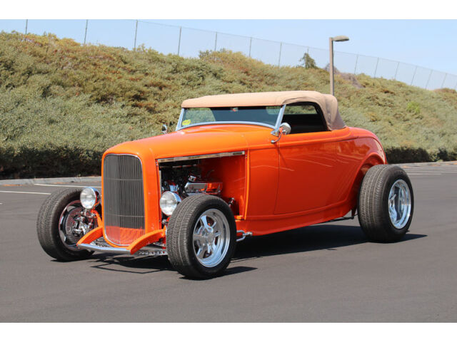 Ford : Other 1932 ford highboy roadster dearborn body 347 tri power stroker 5 spd manual a c