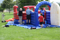 INFLATABLE GLADIATOR JOUST - COMMERCIAL GRADE - $2500.00