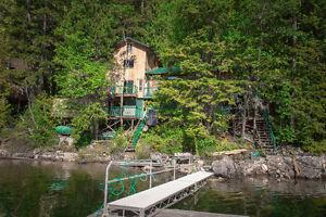Shuswap Lakefront Cabin
