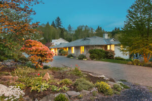 Avail. July 1 - Beautiful 5 bed. family home in West Vancouver