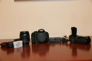 Canon T3i DSLR Camera with EF-S 18-55 IS II Lens
