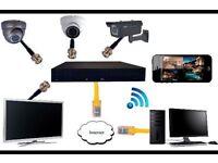CCTV camera full system
