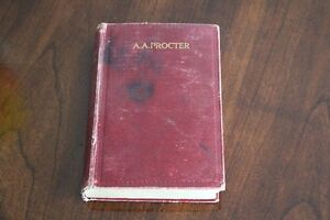 Poems by Adelaide A Procter Hardcover Intro by Charles Dickens