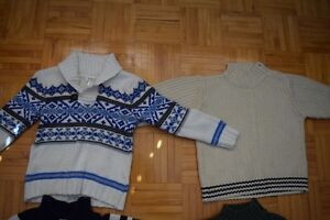 Gars 4T veston tricoté / Boy knitted sweater