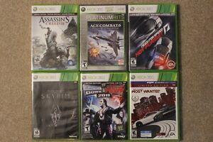 Xbox 360 Games $10-$15