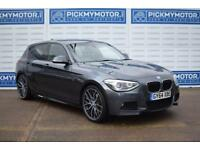 2014 64 BMW 1 SERIES 2.0 125D M SPORT 5D AUTO 215 BHP DIESEL