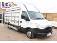2013 IVECO DAILY 35S13V 3950 WB LWB HIGH ROOF WITH EXTERNAL FRAIL VAN LWB DIESEL
