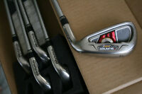 TaylorMade Burner XD Irons + Ben Hogan Sure Out 60 Lob wedge