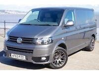 2013 VW TRANSPORTER T5 102TDi SWB T28 *ONLY 33K* GREY SPORTLINE KIT T5.1 GP