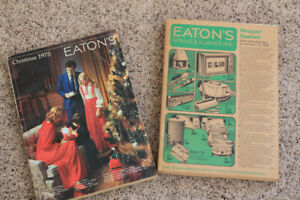 Vintage Eaton's Catalogues-last edition/Spring & Summer 1976