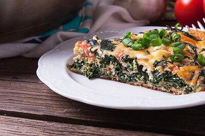 Erst stockt das Ei, dann der Atem. So köstlich ist die Mikrowellen-Frittata. (© Thinkstock via The Digitale)