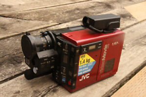 Collectible JVC GR-C7 Camcorder - Red