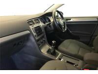2014 Volkswagen Golf Match 1.4 TSI 122 PS 6-speed manual 5 Door Petrol white Man