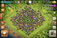 Clash of Clans Level 82 decent Town Hall 9