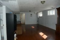 Ready available basement for rent