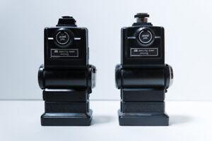 2x Vivitar 285HV Hot Shoe Flashes - Off Camera Flashes