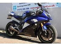 2008 YAMAHA R6 14S BLUE, RIDE AWAY TODAY! CBR GSXR 600 DAYTONA
