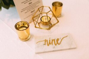 Wedding Décor - Candle Holders / Table Numbers / Signs and MORE
