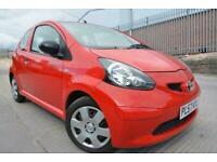 TOYOTA AYGO 1.0 VVT-I 3 DOOR*LOW MILEAGE*ONLY 48K MILES*FULL SERVICE HISTORY*