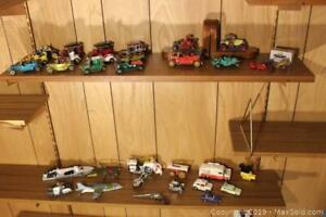 Vintage Toy Cars, Trucks, And More