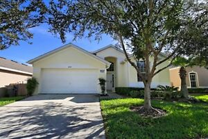Florida home with 4 Bedrooms, 3 Baths, Private Pool near Disney