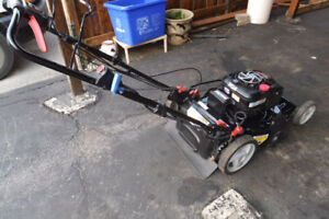new  craftsman self propelled lawn mower with  190cc  engine