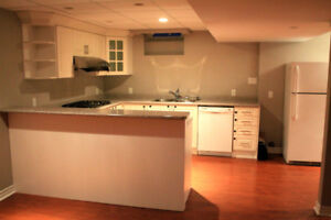 Beautiful basement at Bayview and Wellington in Aurora