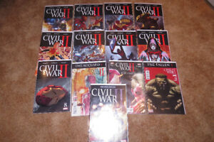 Marvel comics - Civil War 2 - Complete set