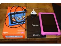 Amazon Fire for Kids (16gb with 64gb memory card)