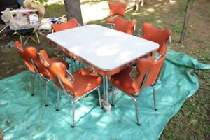 Vintage 50s 60s Kitchen Table and Chairs Set