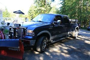 2006 Ford F-350, Snowplow complete with Salt Sander