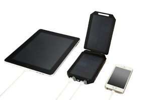 Extra Portable Battery Solar Charger iPad iPhone Phone Camera
