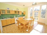 Wonderful traditional furnished 2 bed top floor flat - Learmonth Terrace