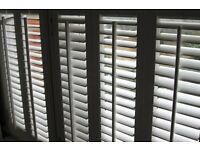 White plantation shutters for sale