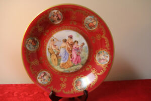 Collectible Vintage Bone China Unique platter.