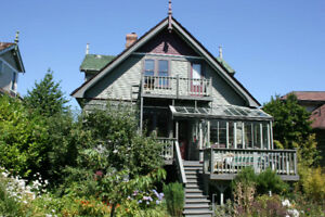 Spend the Winter in this Charming Victoria Heritage Home