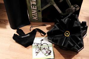 Kinetic T2200 Road Machine 2.0 Fluid Bike Trainer and alot Extra