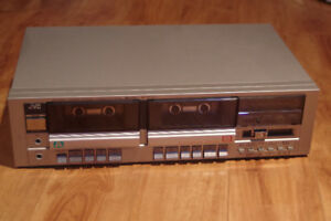 JVC Dual Cassette recorder/player