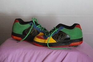 GENUINE HEELY RUNNING SHOES/ROLLERSKATES SIZE 7