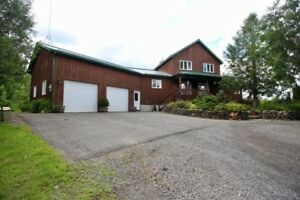 Home for Sale on 40 Acres - Kemptville, 30 min South of Ottawa
