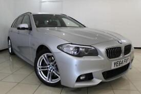2014 64 BMW 5 SERIES 2.0 520D M SPORT TOURING 5DR AUTOMATIC 188 BHP DIESEL