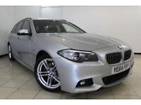 2014 64 BMW 5 SERIES 2.0 520D M SPORT TOURING 5DR AUTOMATIC 188 BHP DIESEL