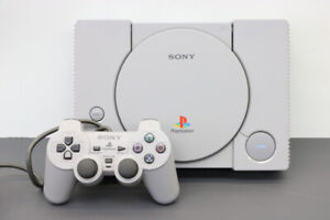 Playstation 1 System with Hook-Ups and Controller (#19859)