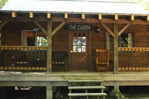 Manitoulin Island Log Cabin Vacation Rental - Year Round
