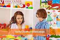 Train to become an Early Childhood Educator