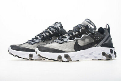 Nike React Element 87 Mens Running Shoes Sneakers Trainers (Element Gray Shoes)