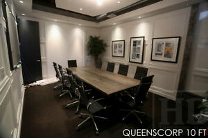 Gray Reclaimed Wood Tables with Smooth, Durable Finishing Oakville / Halton Region Toronto (GTA) image 4