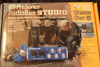 Presonus Audiobox Studio. Complete Hardware/Software record kit