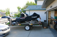 Trailtech Snowmobile/Quad Trailer - 2013